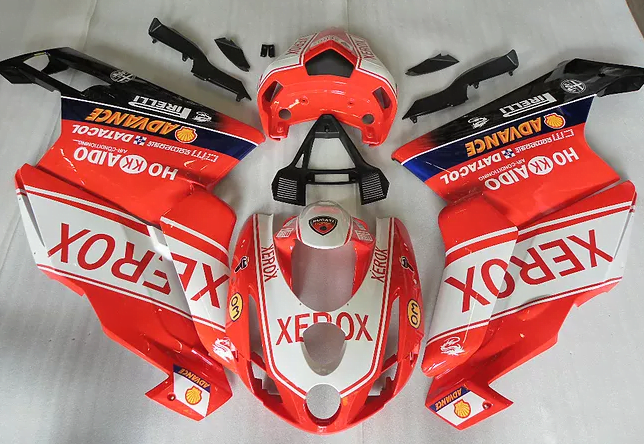 2003-04 ducati 999 749 Orange Red White