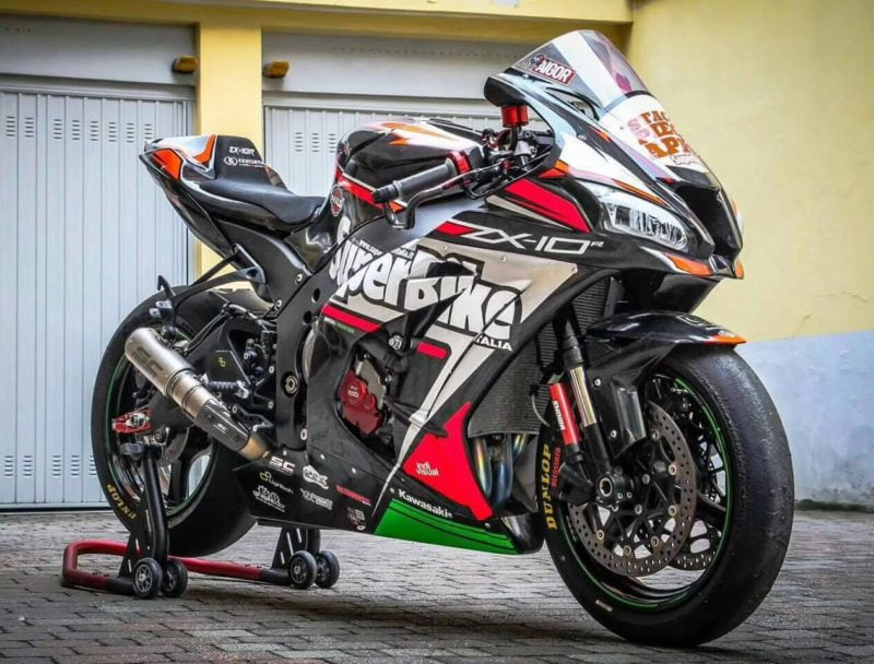ZX-10r 2011 - 2015 race graphic