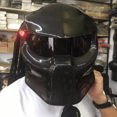 Predator Carbon fibre mask and helmet