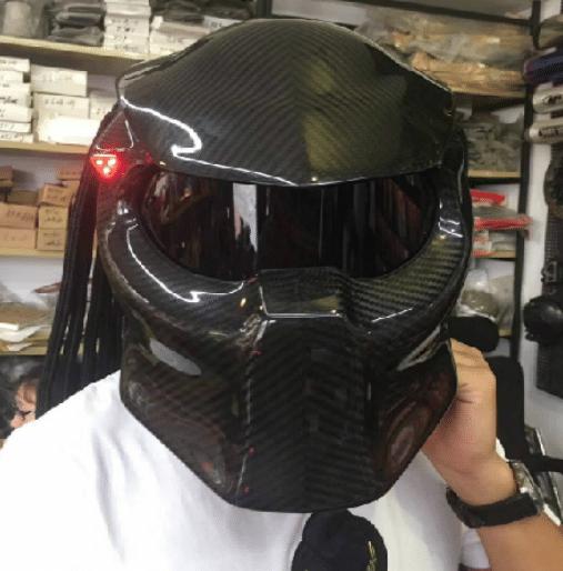 Predator Carbon fibre mask and helmet