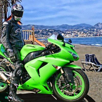 2006-2007 zx10r green gloss