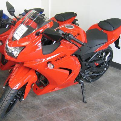 2008-2012 ninja250 red