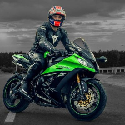 2016-2017 zx10r green black gloss