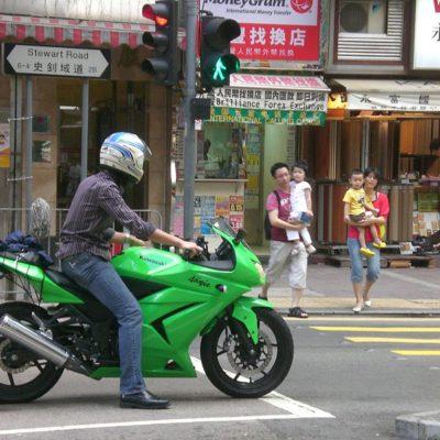 2008-2012 ninja250 green