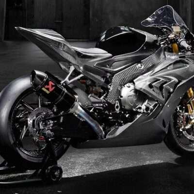 BMW S1000RR beautiful real carbon fiber