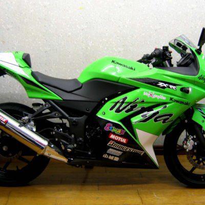 2008-2012 ninja250 special edition
