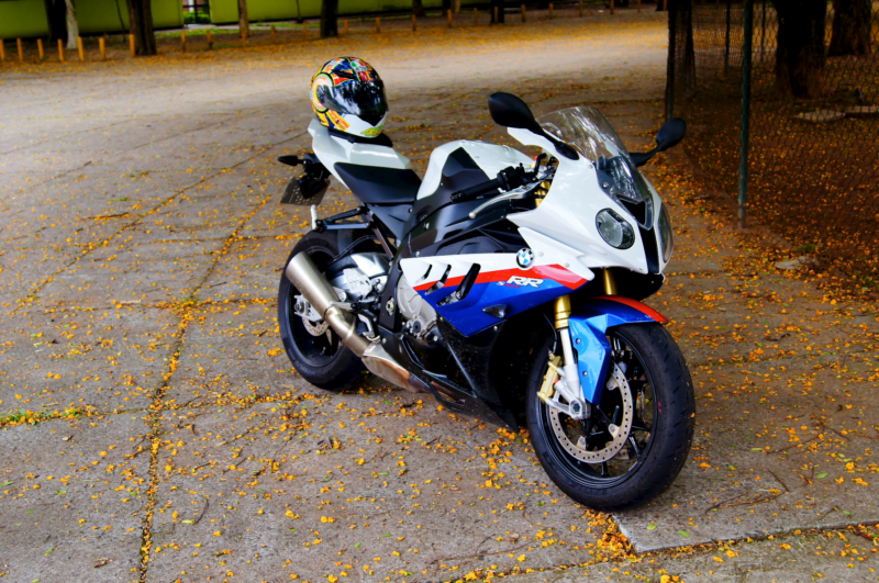 2010 - 2012 S1000RR classic tri-color blue white red
