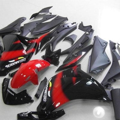 2011 CBR250R red black white gloss