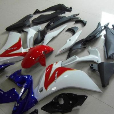 2011 CBR250R blue red white