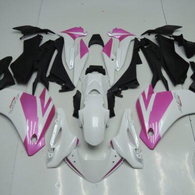 2011 CBR250R white pink gloss