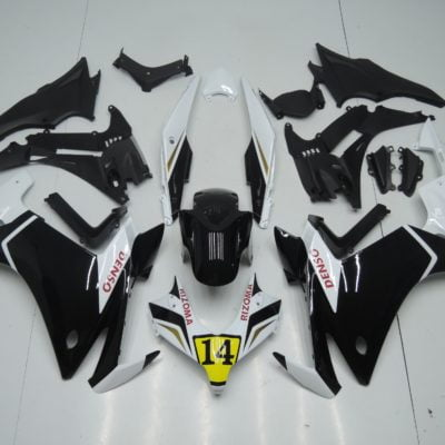 2013-2015 CBR500r black white gloss