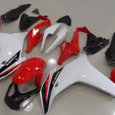 2011-2014 cbr650f white red black gloss