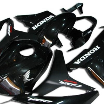 2007-2008 cbr600 black white gloss