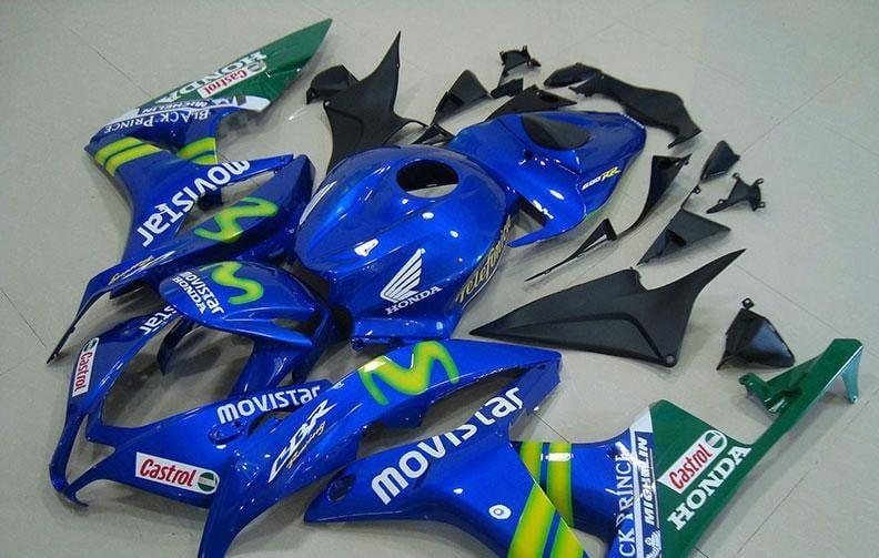 2007-2008 cbr600 movistar
