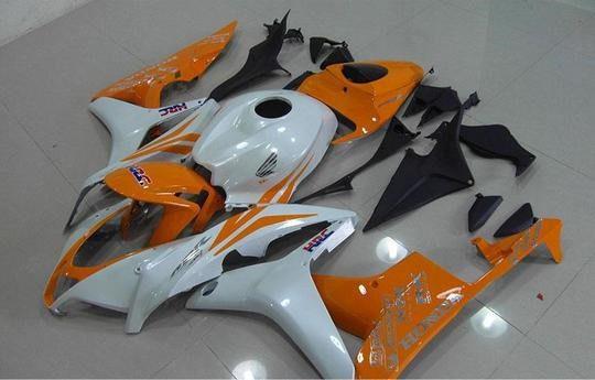 2007-2008 cbr600 white orange