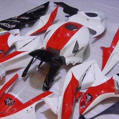 2007-2008 cbr600 white black red
