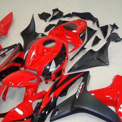 2007-2008 cbr600 red black