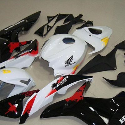 2007-2008 cbr600 black red white