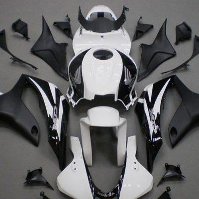 2007-2008 cbr600 white black