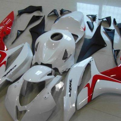 2007-2008 cbr600 white red