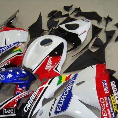 2009-2012 cbr600 sticker pack