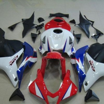 2009-2012 cbr600 white blue red