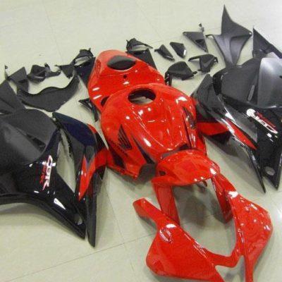 2009-2012 cbr600 red black