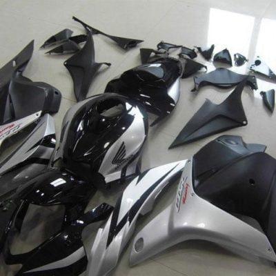 2009-2012 cbr600 black silver