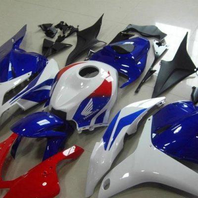 2009-2012 cbr600 blue white red