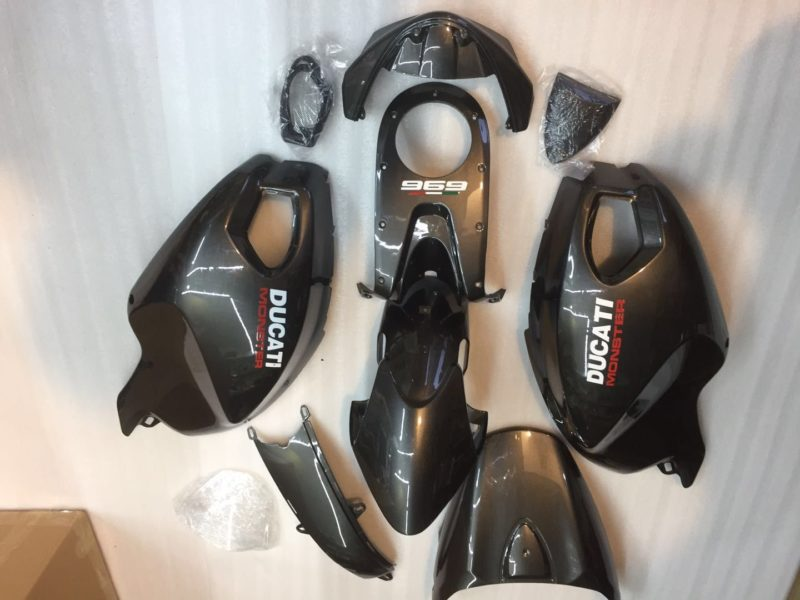 Ducati 696 monster fairing gloss black