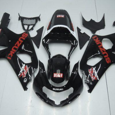 GSX R750 600 2001 2003 BLACK YOSHIMURA