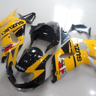 GSX R750 600 2001 2003 DARK YELLOW BLACK