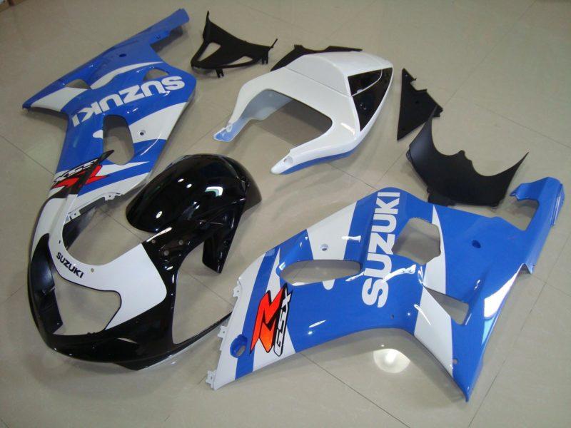 GSX R750 600 2001 2003 LIGHT BLUE 3