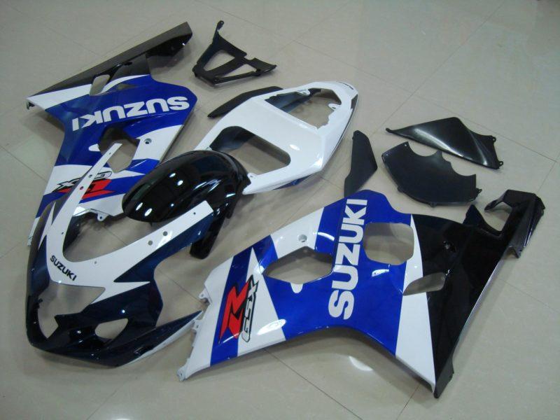 GSX R750 600 2004 2005 BLUE BLACK