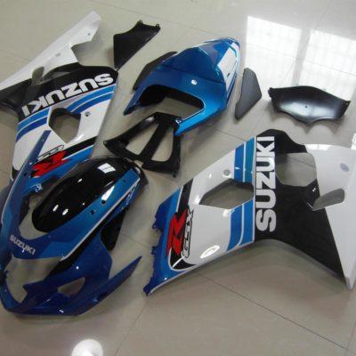 GSX R750 600 2004 2005 BLUE WHITE OEM