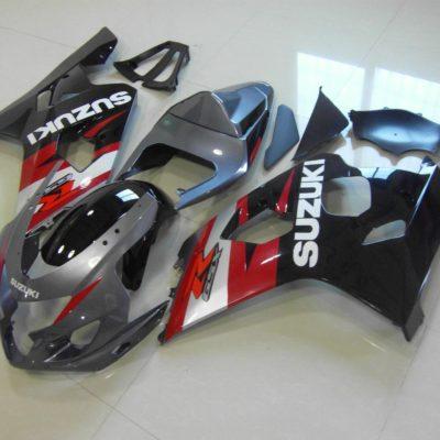 GSX R750 600 2004 2005 GREY AND BLACK