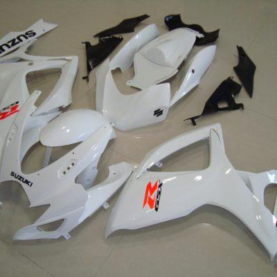 GSX R750 600 2006 2007 ALL WHITE