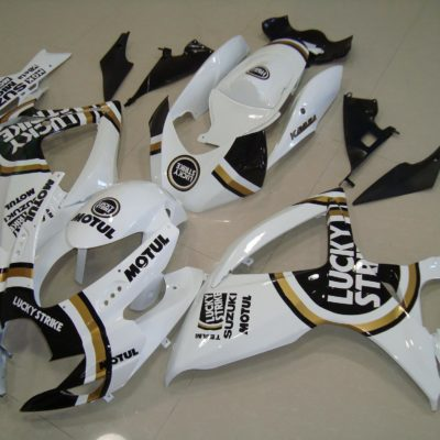 GSX R750 600 2006 2007 BLACK LUCKY STRIKE 2