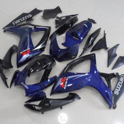 GSX R750 600 2006 2007 DARK BLUE OEM 2