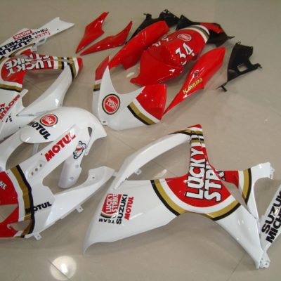 GSX R750 600 2006 2007 LUCKY STRIKE 6