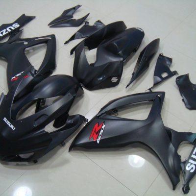 GSX R750 600 2006 2007 MATT BLACK RACE