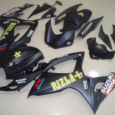 GSX R750 600 2006 2007 MATT BLACK RIZLA