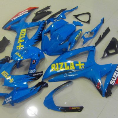 GSX R750 600 2008 2010 DARK BLUE RIZLA
