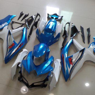 GSX R750 600 2008 2010 MATTALIC BLUE OEM 2