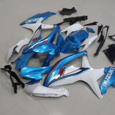 GSX R750 600 2008 2010 ORIGINAL LIGHT BLUE 2