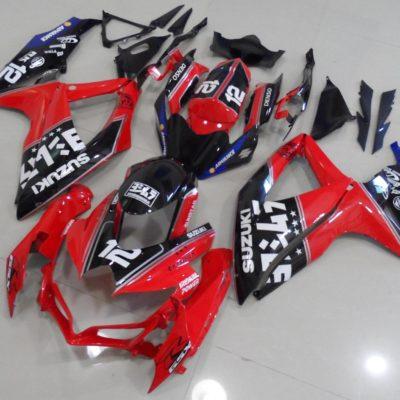 GSX R750 600 2008 2010 RED BLACK DENSO YOSHIMURA