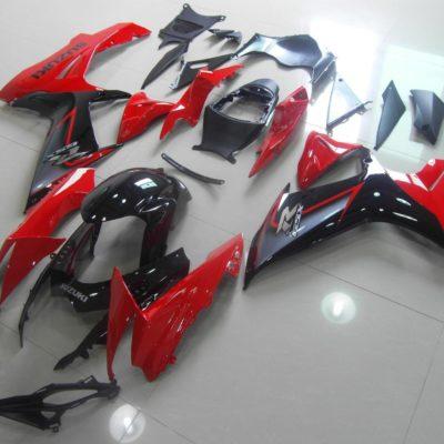 GSX R750 600 2011 2016 RED BLACK SILVER 2