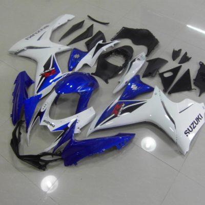 GSX R750 600 2011 2016 WHITE BLUE OEM