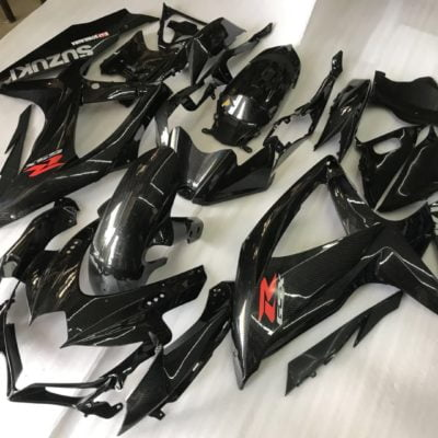 2008-2010 gsxr 600 750 carbon fiber graphic painted