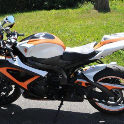 K9 gsxr1000 orange white
